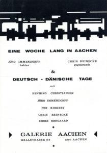 Einladung zu den Deutsch - Dänischen Tagen