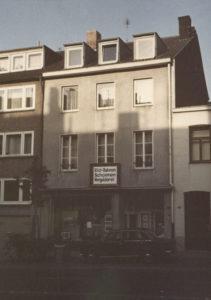 Kunsthandlung Schoenen im Juni 1968 (Foto: Archiv Kunsthandlung Schoenen)